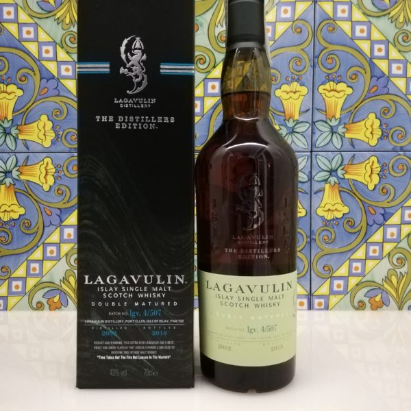 Whisky Lagavulin Distillers Edition 2002 vol 43% cl 70