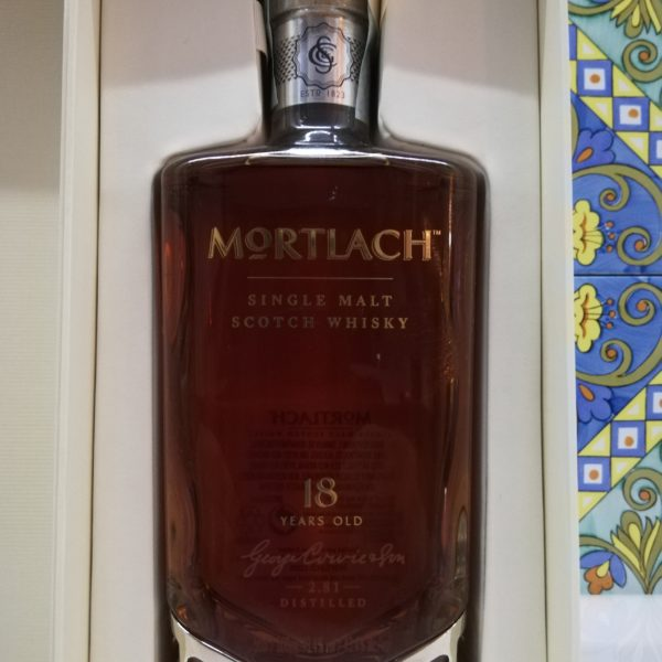 Whisky Mortlach 18 Years Old – Single Malt Scotch Whisky vol 43,4% cl 50