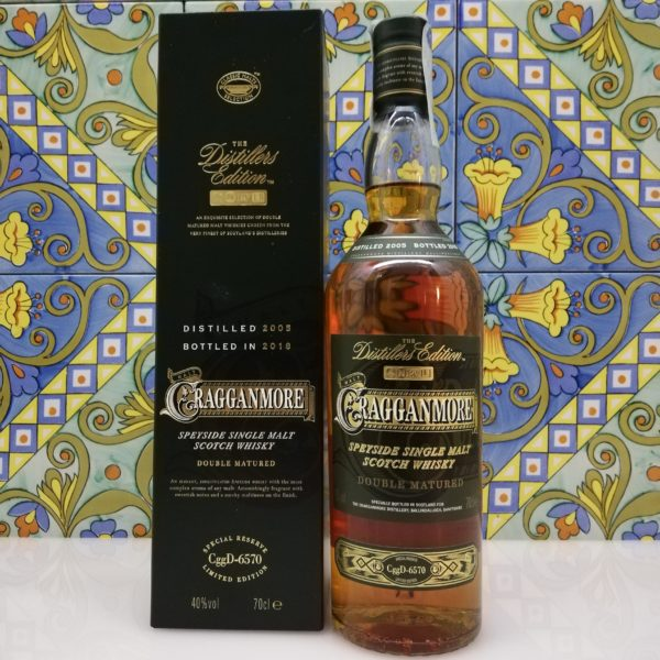 "Whisky Single Malt ""Cragganmore"" Limited Edition 2018 vol 40% cl 70"