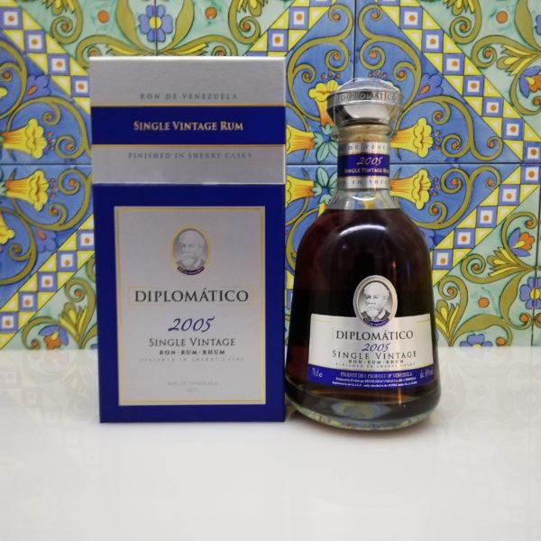 Rum Rhum Diplomatico 2005 Vol.43% cl.70 Single Vintage Rum