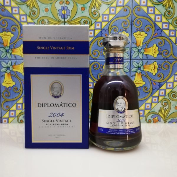 Rum Rhum Diplomatico 2004 Vol.43% cl.70 Single Vintage Rum
