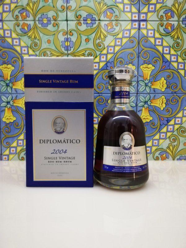 Rum Rhum Diplomatico 2004 Vol.43% cl.70 Single Vintage Rum