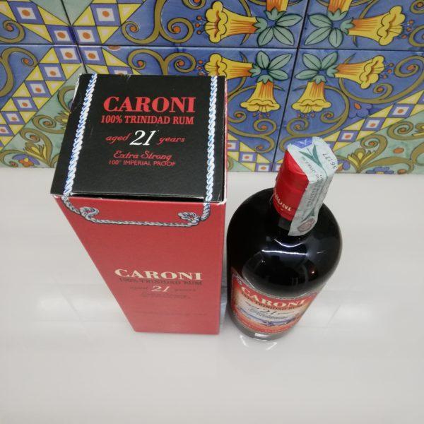 Rum Caroni 21 Y.o. Vol.57,18% cl.70 Velier