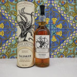 Whisky Talisker Select Reserve 'Game Of Thrones House Greyjoy' 70cl vol 45,8%