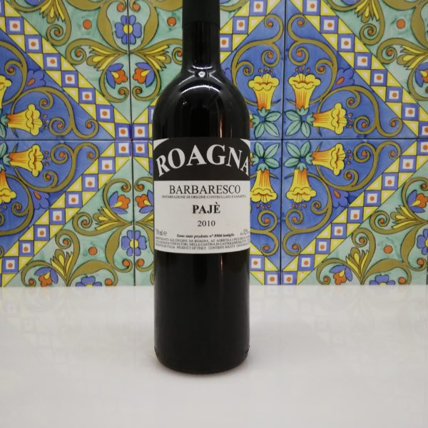 "Roagna – Barbaresco ""Pajè"" 2010 cl 75"