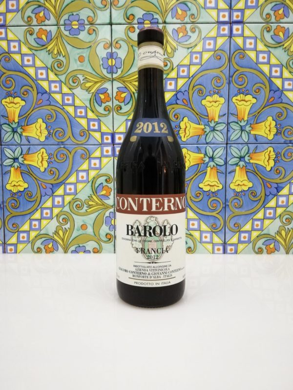 """Giacomo Conterno – Barolo """"Francia"""" DOCG 2012 cl 75"""