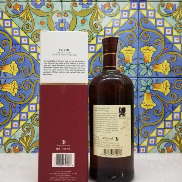Whisky Yoichi  Sherry wood Finish  Nikka 2018 Vol 46% cl70