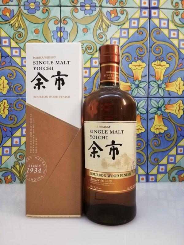 Whisky Yoichi Bourbon Wood Finish Nikka 2018 vol 46 cl 70