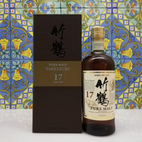 Whisky Taketsuru 17 Y.o. Nikka Pure Malt – Vol.43% cl.70