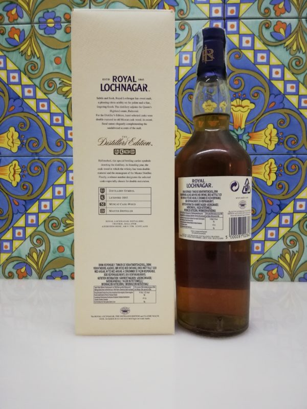 Whisky Royal Lochnagar  Distillers Edition vol 40% cl 70