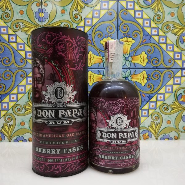 Rum Rhum Don Papa Sherry Cask Finish vol 45% cl 70