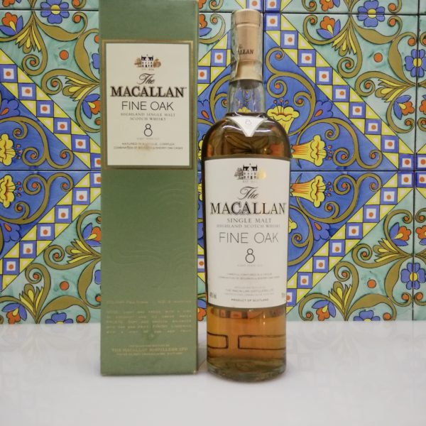 Whisky Macallan Fine Oak 8 y.o. vol 40% cl 70