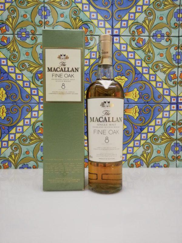 Whisky Macallan Fine Oak 8 y.o. vol 40% cl 70