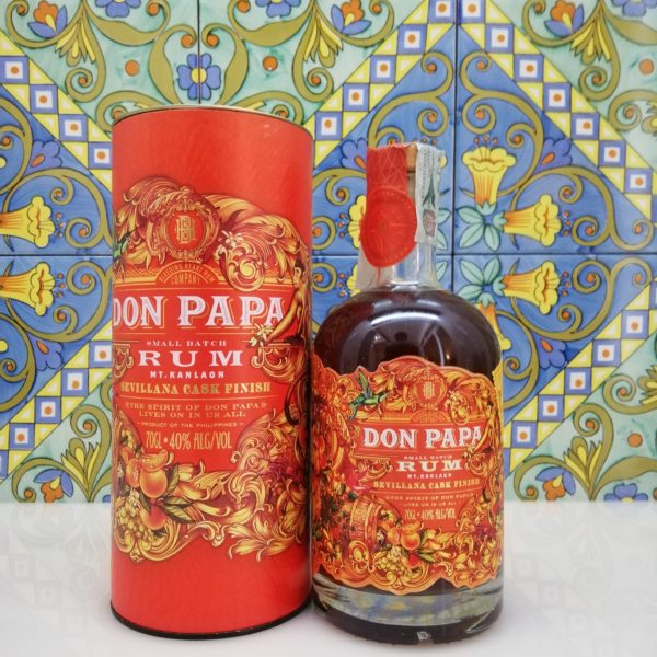 Rum Don Papa Sevillana Cask  Finish Limited Edition cl 70 vol 40%