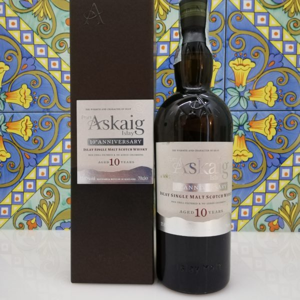 Whisky Port Askaig 10 Y.O. vol 55.85% cl 70- 10th Anniversary