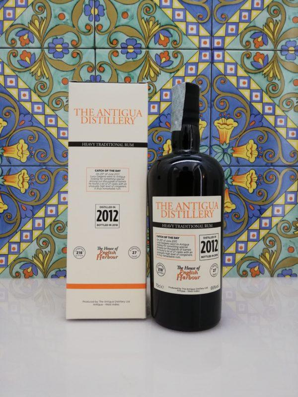 "The Antigua Distillery ""Heavy Traditional Rum"" 2012 – Vol. 66% cl.70"