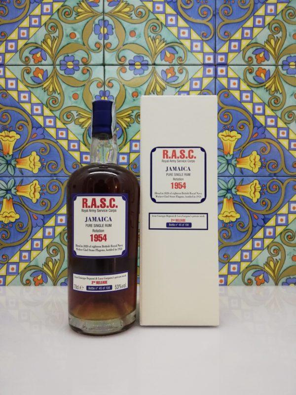 Rum Rhum R.A.S.C. 1954 Jamaica Pure Single 2° Release vol 53° cl 70