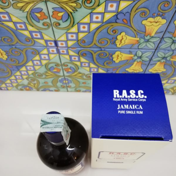 Rum Rhum R.A.S.C. 1954 Jamaica Pure Single 2° Release vol 53° cl 70
