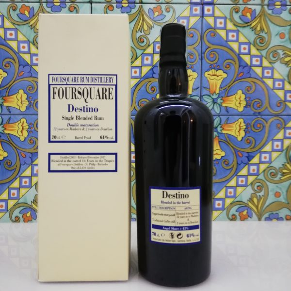 Rum Foursquare Destino – cl 70 vol 61%