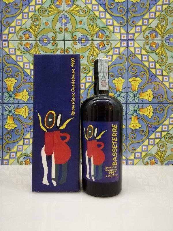 Rum Basseterre Guadalupe 1997 Velier Vol.49,2% Cl.70