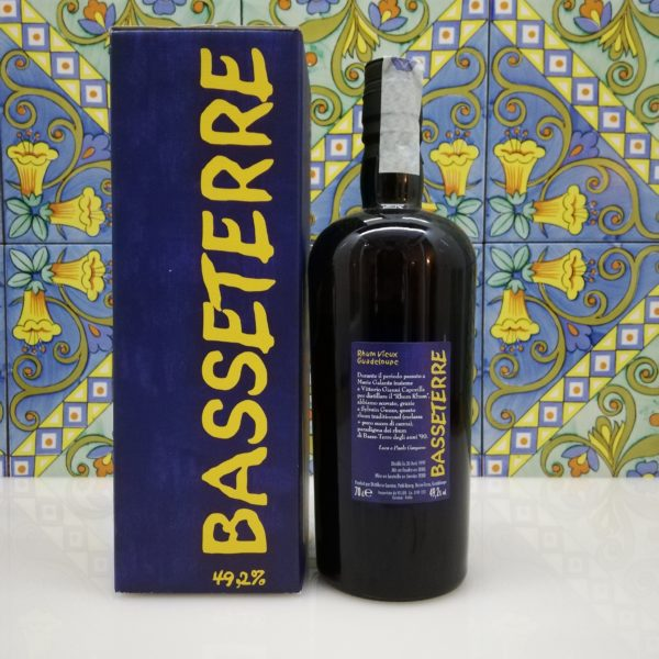 Rum Basseterre Guadalupe 1997 Velier Vol.49,2% Cl.70