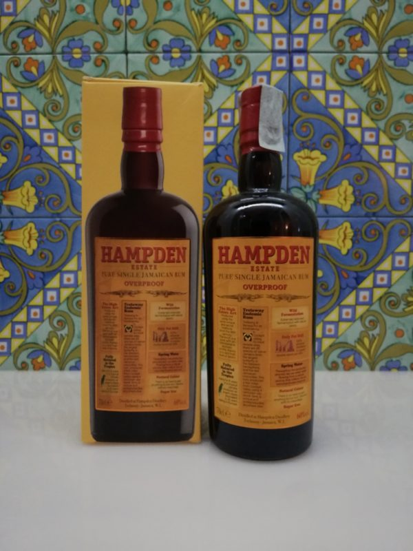 Rhum Rum Hampden Estate Overproof vol 60° cl 70
