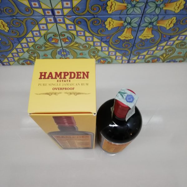Rhum Rum Hampden Estate Overproof vol 60° cl 70