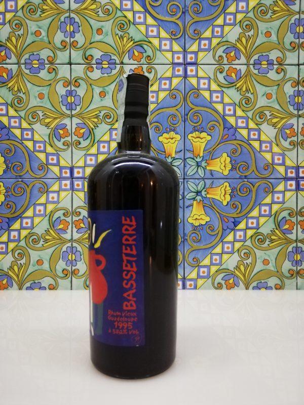 Rum Basseterre Guadalupe 1995 Velier Vol. 58.2 % Cl.70