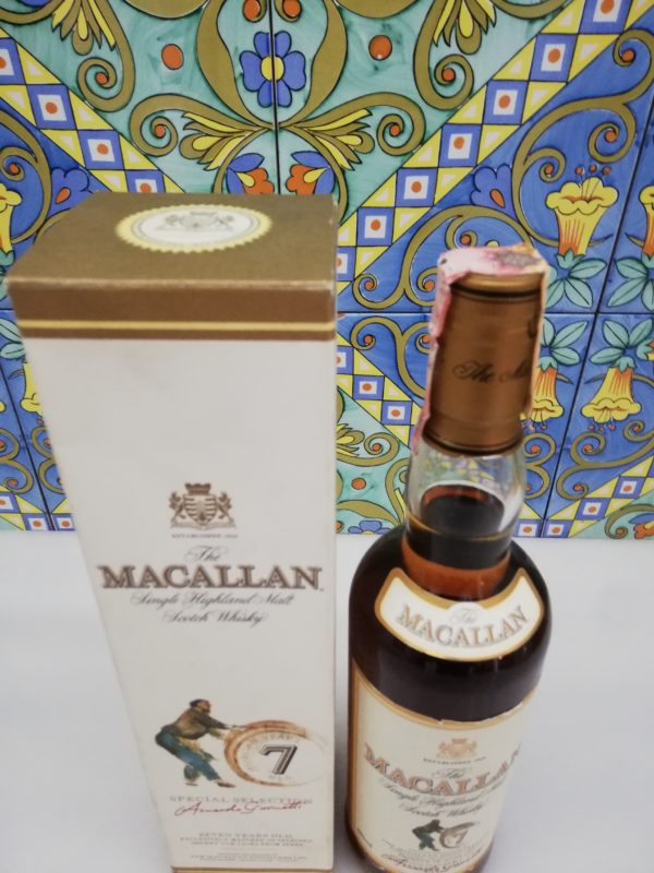 Whisky The Macallan 7 Years Old Giovinetti e Figli Bottled 2004 – cl 70 vol 40 %