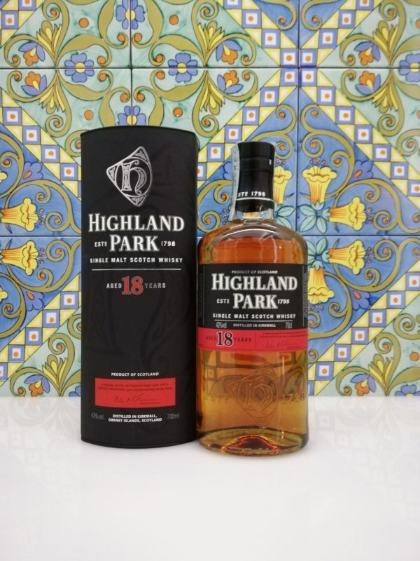 Whisky Highland Park Aged 18 Years vol 43% cl 70