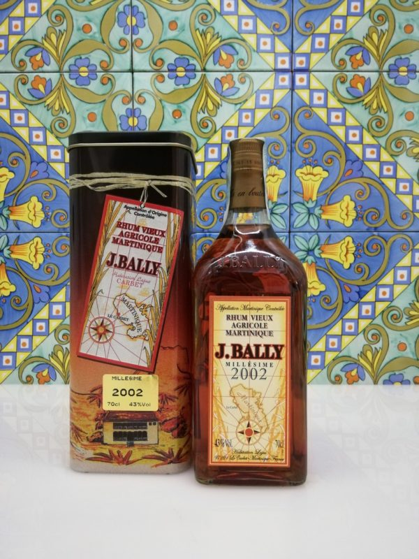 Rum Rhum J.Bally 2002  Vol.45%  cl 70 Agricole Martinique