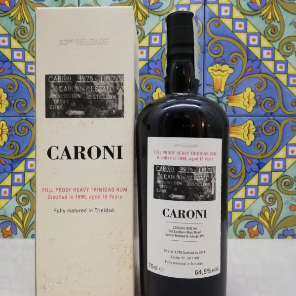Rum Caroni 1998 16 Y.o. Ful Proof  32rd Release Vol.64,5% cl.70 Velier