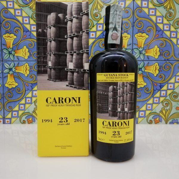 Rum Caroni 23 Y.o. Vol.57,18% cl.70 Velier
