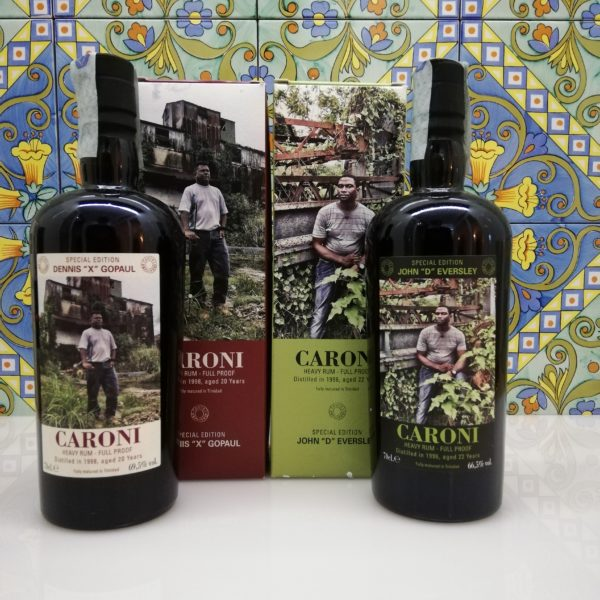 "Rum Caroni Employees 1st release-John ""D"" Eversley 1996 -Dennis ""X"" Gopaul 1998"
