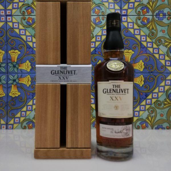 "Whisky ""The Glenlivet 25 Years Old"" Single Malt Scotch vol 43 cl 70"