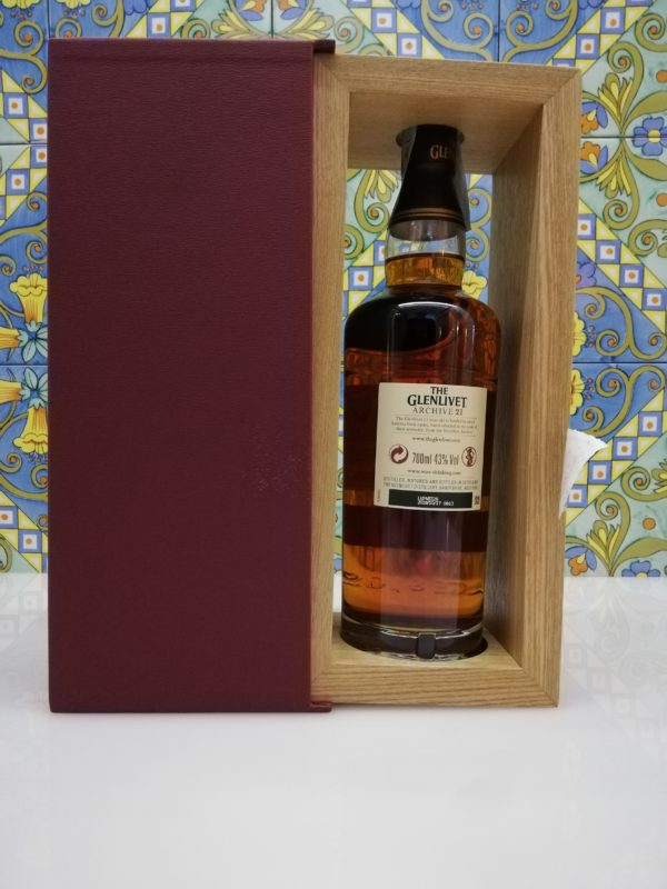 "Whisky ""The Glenlivet 21 Years Old"" Speyside Single Malt Scotch vol 43 cl 70"
