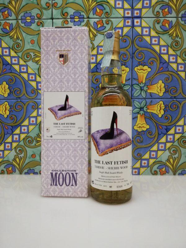 Whisky The Last Fetish Tamdhu Sherry Wood Distilled 1988 Moon Import – cl 70 vol 46%