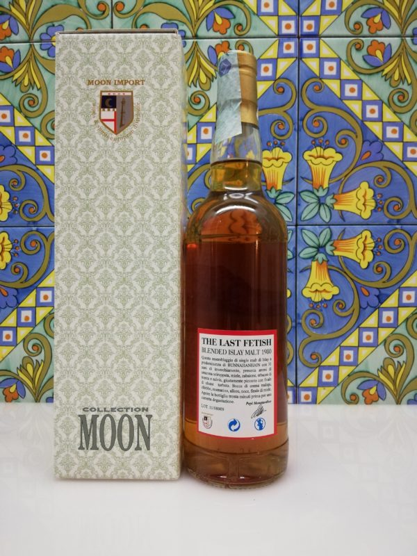 Whisky The Last Fetish Moon Import Blended Islay Distilled 1980- cl 70 vol 46%