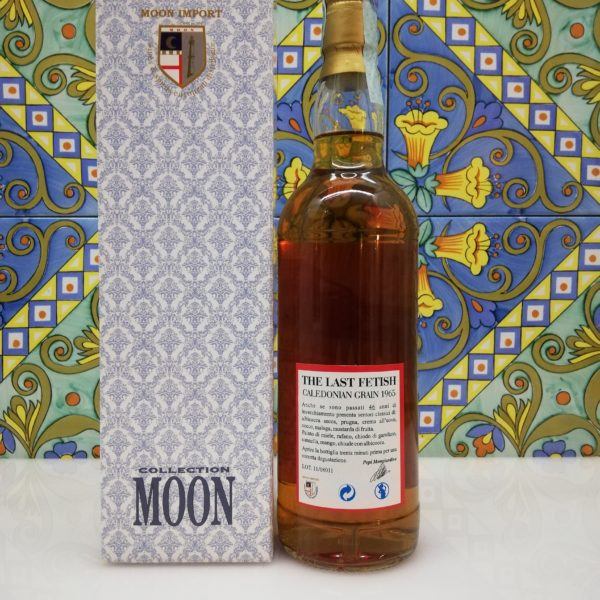 Whisky The Last Fetish Moon Import Caledonian Grain Distilled 1965- cl 70 vol 46%