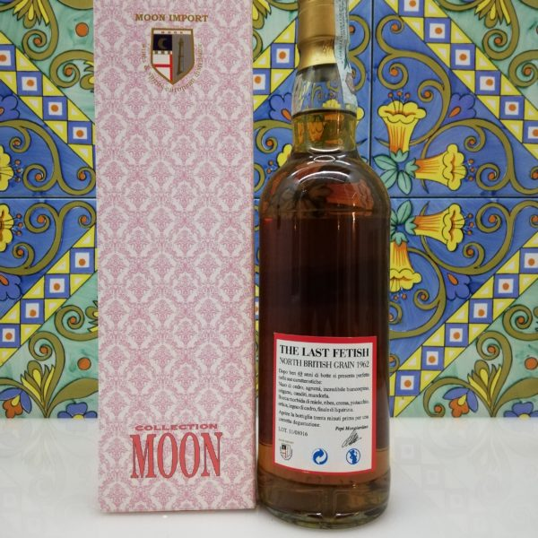 Whisky The Last Fetish Moon Import North British Grain Distilled 1962- cl 70 vol 46%