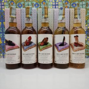 Whisky Serie the Last Fetish Moon Import bottled 2011 cl 70 vol 46