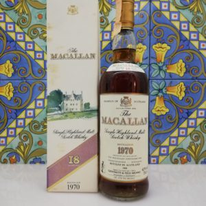 Whisky The Macallan 18 y.o. Distilled 1970 Giovinetti e Figli vol 43% cl 75
