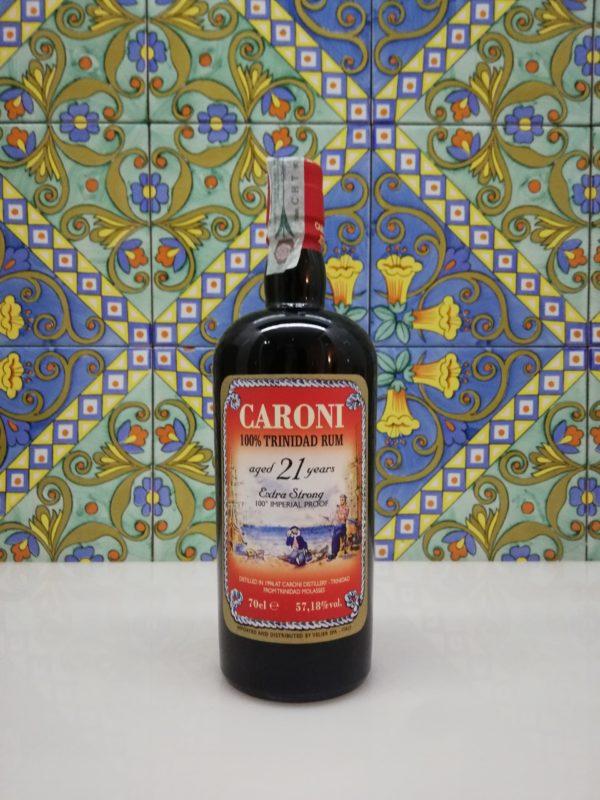 Rum Caroni 21 Y.o. Vol.57,18% cl.70 Velier No Box
