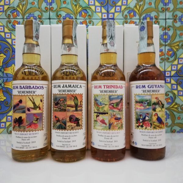 "Serie Completa Rum Moon Import ""Remember"" 2018-2019"