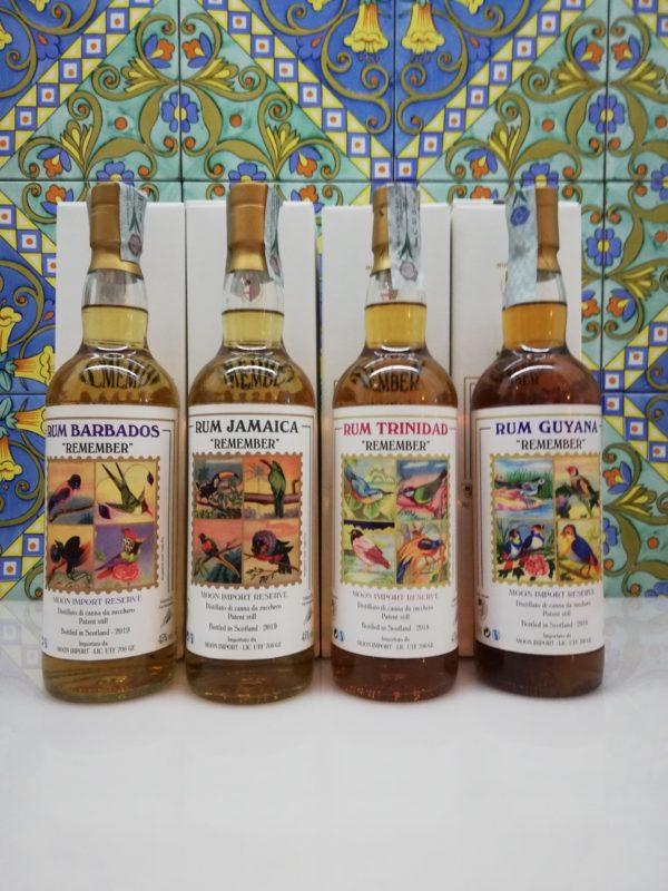 "Serie Completa Rum Moon Import ""Remember"" 2018-2019"