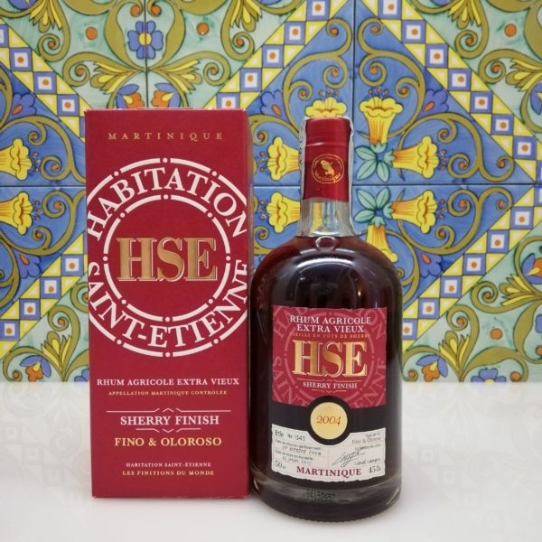 Rum Extra Vieux 2004 Sherry Finish Fino E Oloroso Saint-Etienne vol 45% cl 50