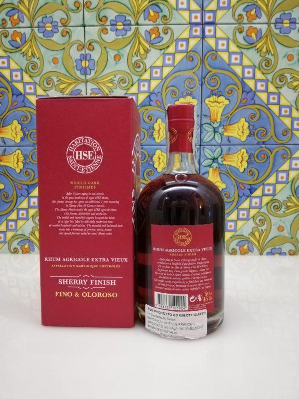 Rum Extra Vieux 2004 Sherry Finish Fino E Oloroso Habitation Saint-Etienne vol 45% cl 50
