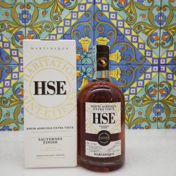 Rum Extra Vieux 2005 Sauternes Finish Habitation Saint-Etienne cl 50 vol 41%