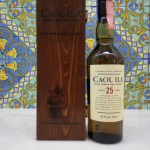 Whisky Caol Ila 25yo 1978 70cl vol59.4% with wood box