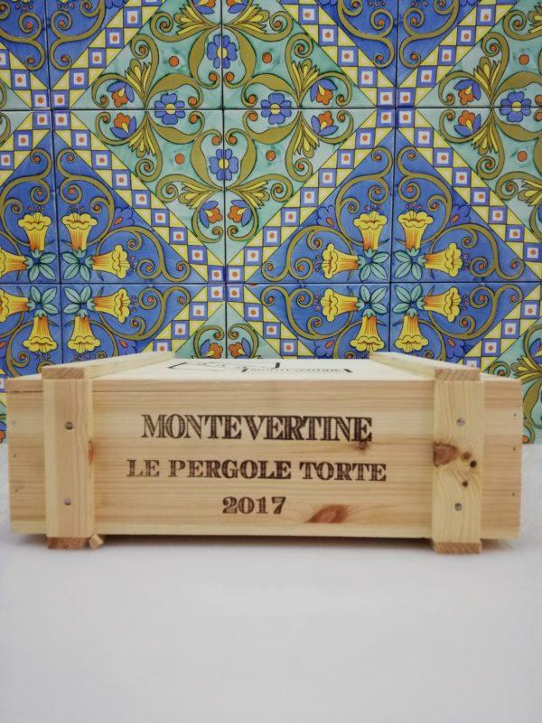 Vino Le Pergole Torte 2017 -Cassa da 3 bottiglie cl 75 Montevertine – Toscana Rosso IGT